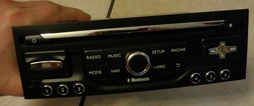 Item RADIO NAVIGATION CITROEN REPAIR SERVICE RT6 RNEG2