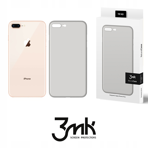 ochronne Etui Firmy 3mk Naturalcase Apple iPhone8+
