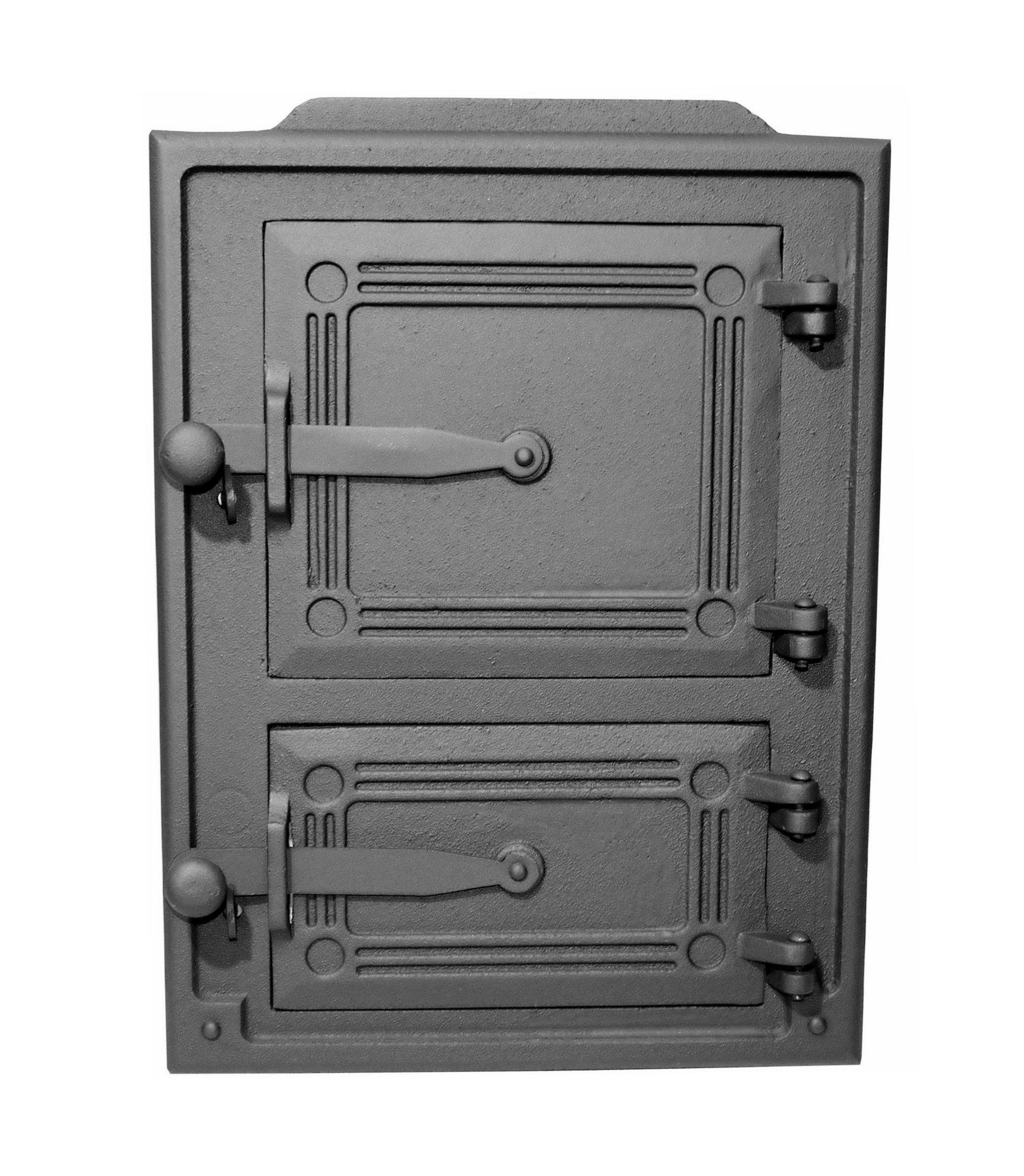 Дверца для печи хлебного коптильни чугунные