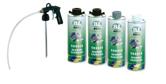 БОЛЛ Комплект для обслуживания шасси 4x1L +пистолет