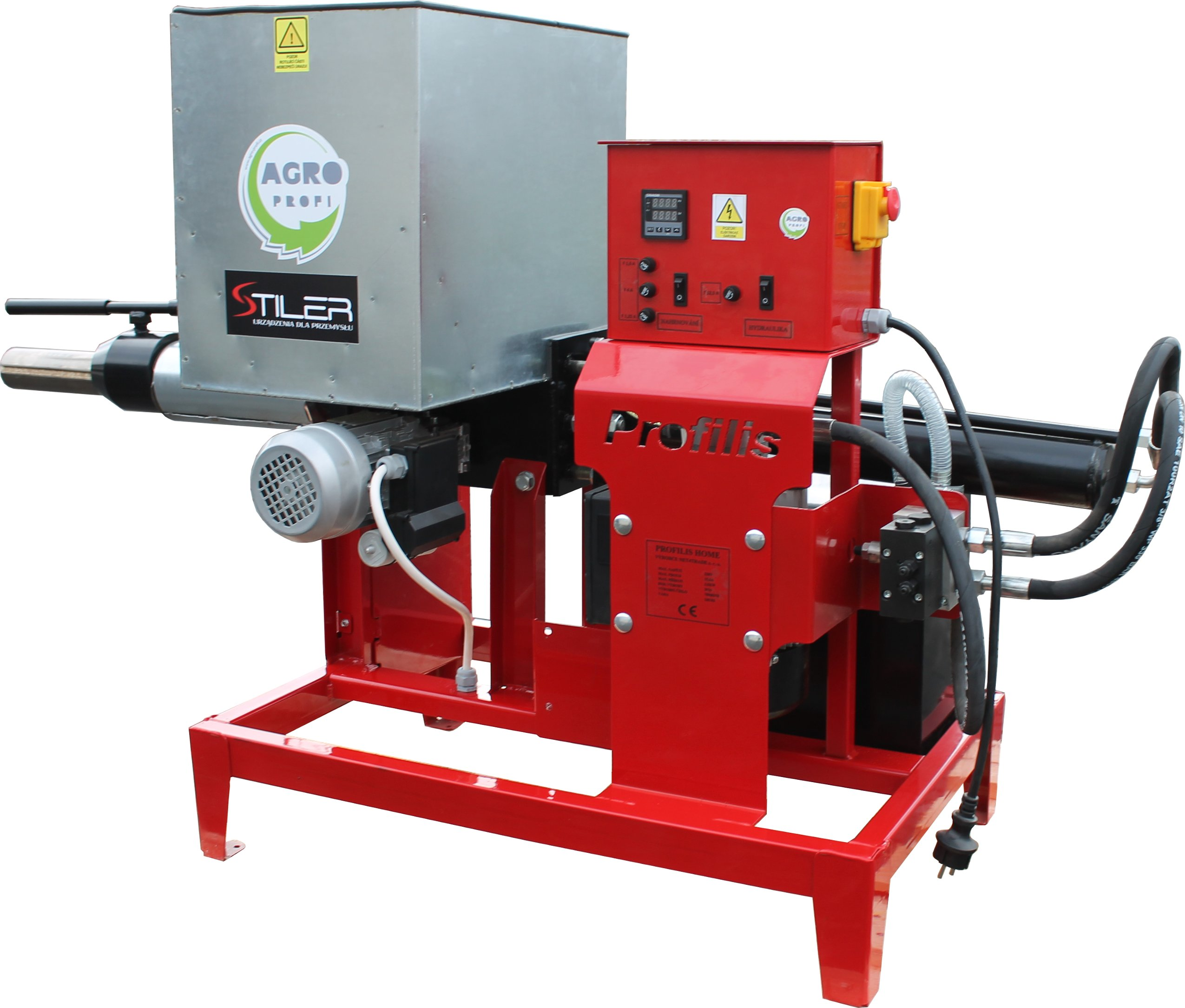 Silná briketa briketovateľka do 15 kg / h 230V