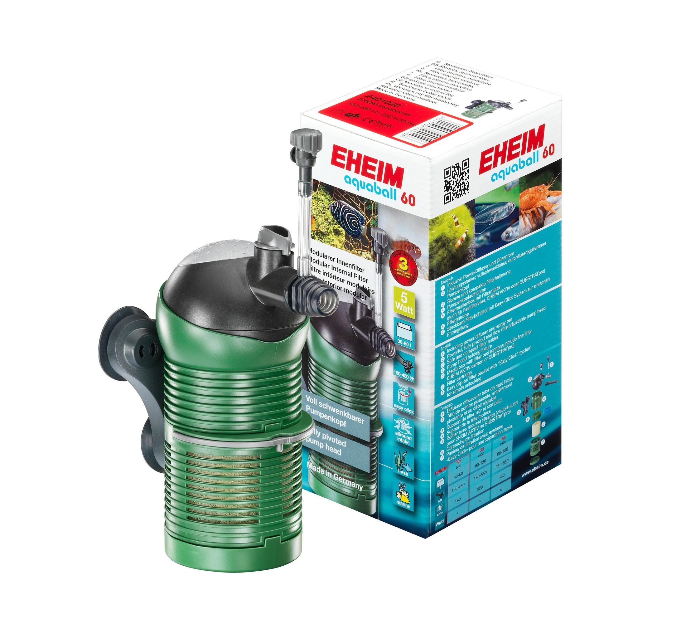 EHEIM Aquaball 60 (2401) modulárny vnútorný filter