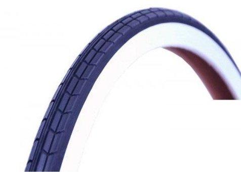 CST pneumatiky 24 x 1 3/8 (37-540) biele bočné ODRAZOVÉ