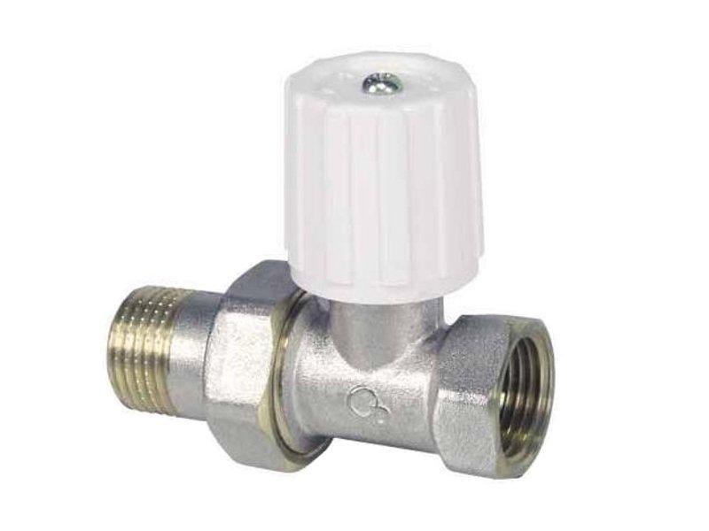 Клапан радиаторный запорно-регулирующий 1 /2 простой для Обогревателя