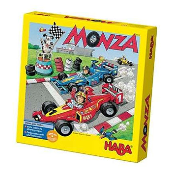 HABA Game Monza závodná rally formula - autá