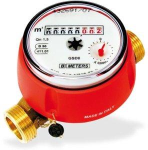 Счетчик воды GSD8 Q3 = 2,5 DN15, горячая вода, BMETERS
