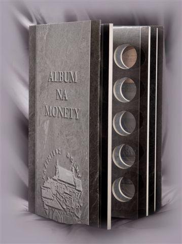 Strieborný album mincí 20 PLN v uzávere
