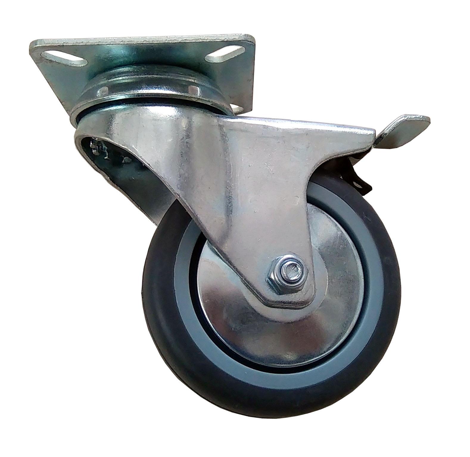 Kruh kolesový koleso 75 mm 60 kg !!! Brzda.