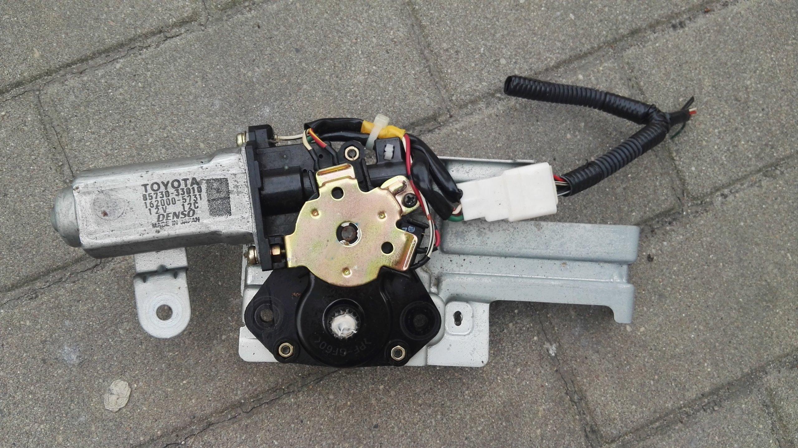 двигатель люка toyota rav4 ii 00-05