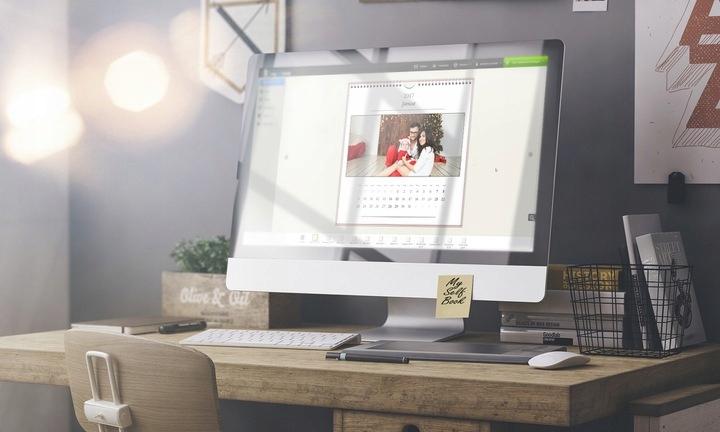 Fotokalendarz настольный 21x10 с Вашей фотографией