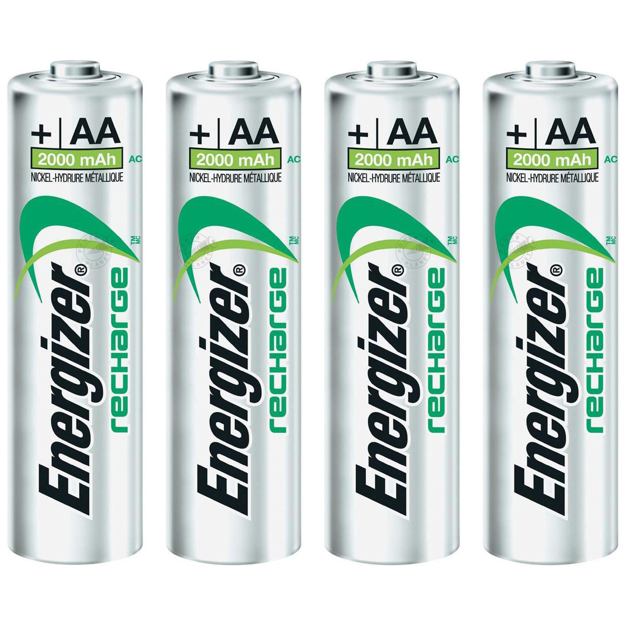 4x Akumulatorki ENERGIZER AA R6 Power Plus 2000mAh
