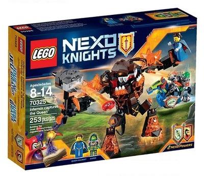 LEGO 70325 NEXO RYTIERI - UCHOPOVAČ KRÁĽOVNÁ