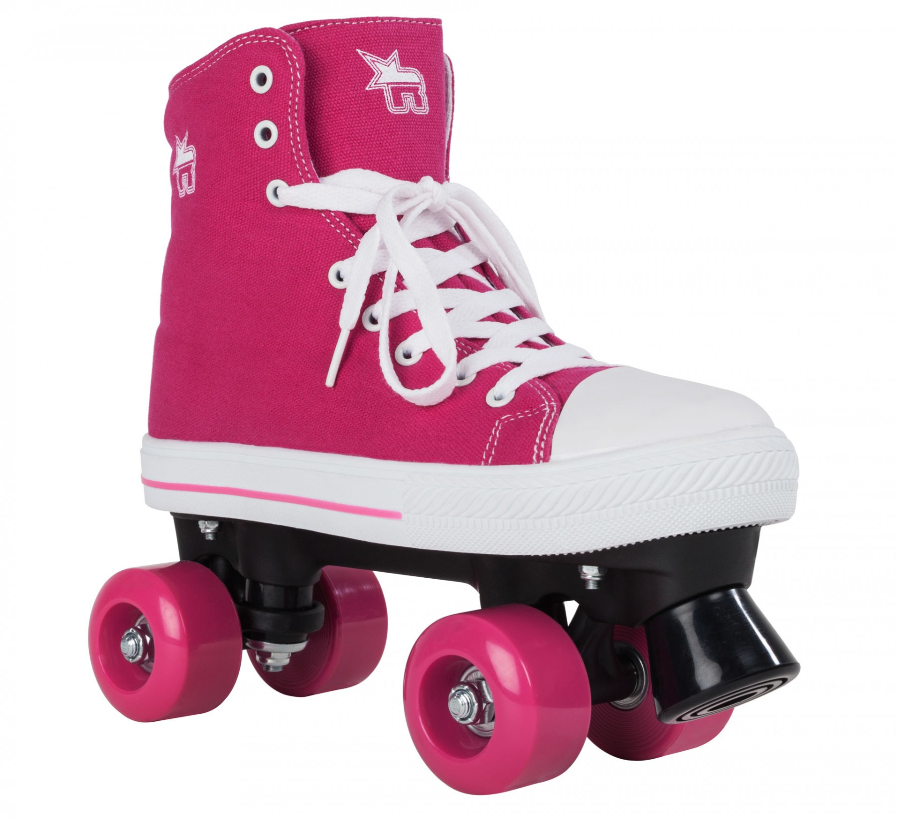 Kolieskové korčule ROOKIE CANVAS HIGH PINK roz. 36.5