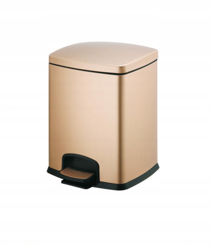 Odpadkový kôš zlatý 12l Stella - 20.20312-G
