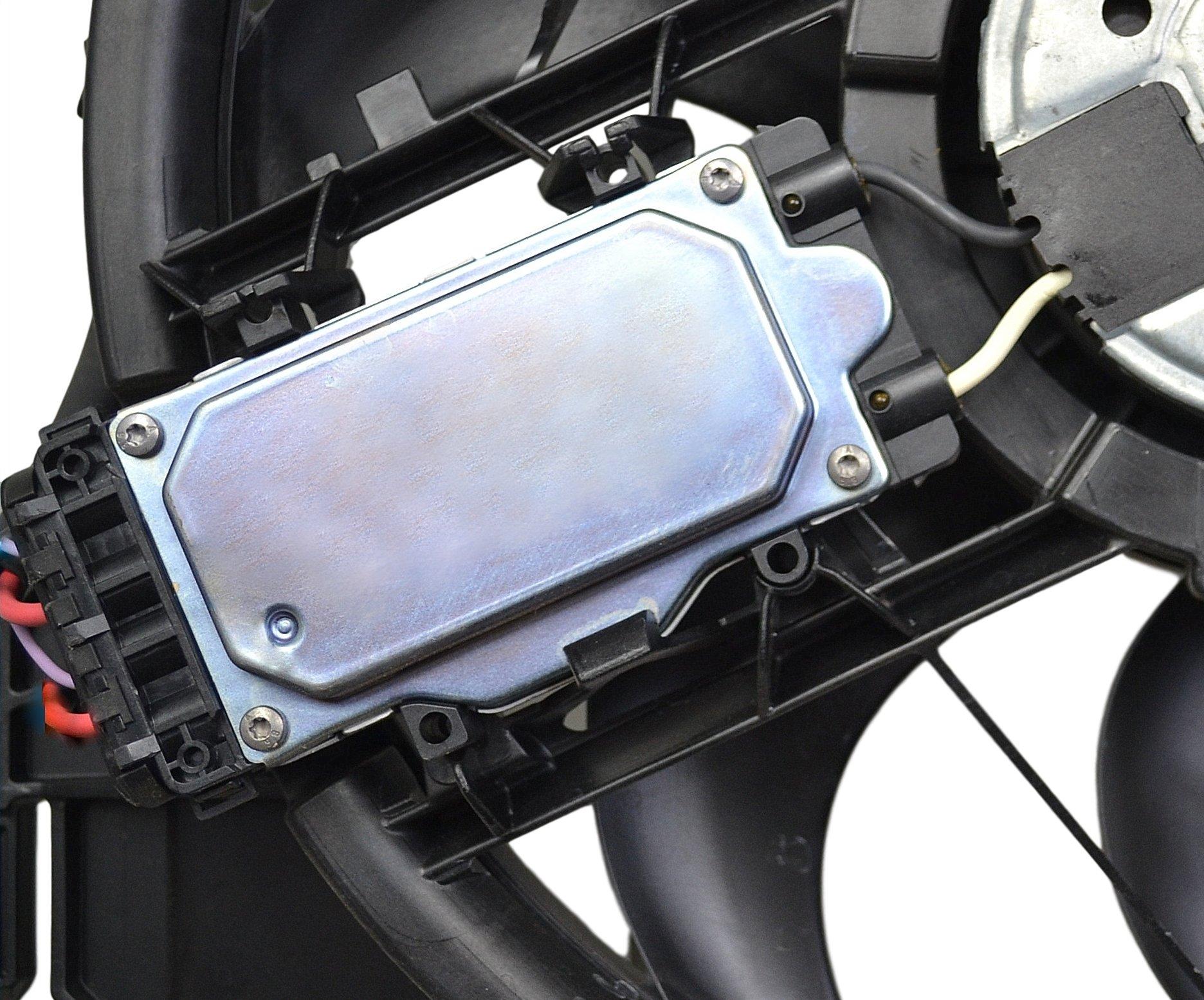 модуль драйвер вентилятора bmw 3 e46 1137328080