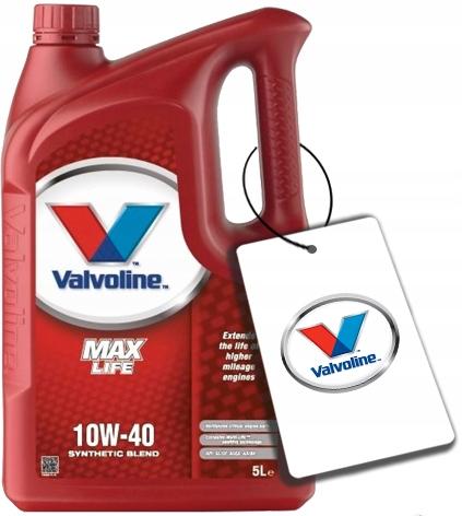 VALVOLINE MAXLIFE 10W40 5L 10W 40 5L