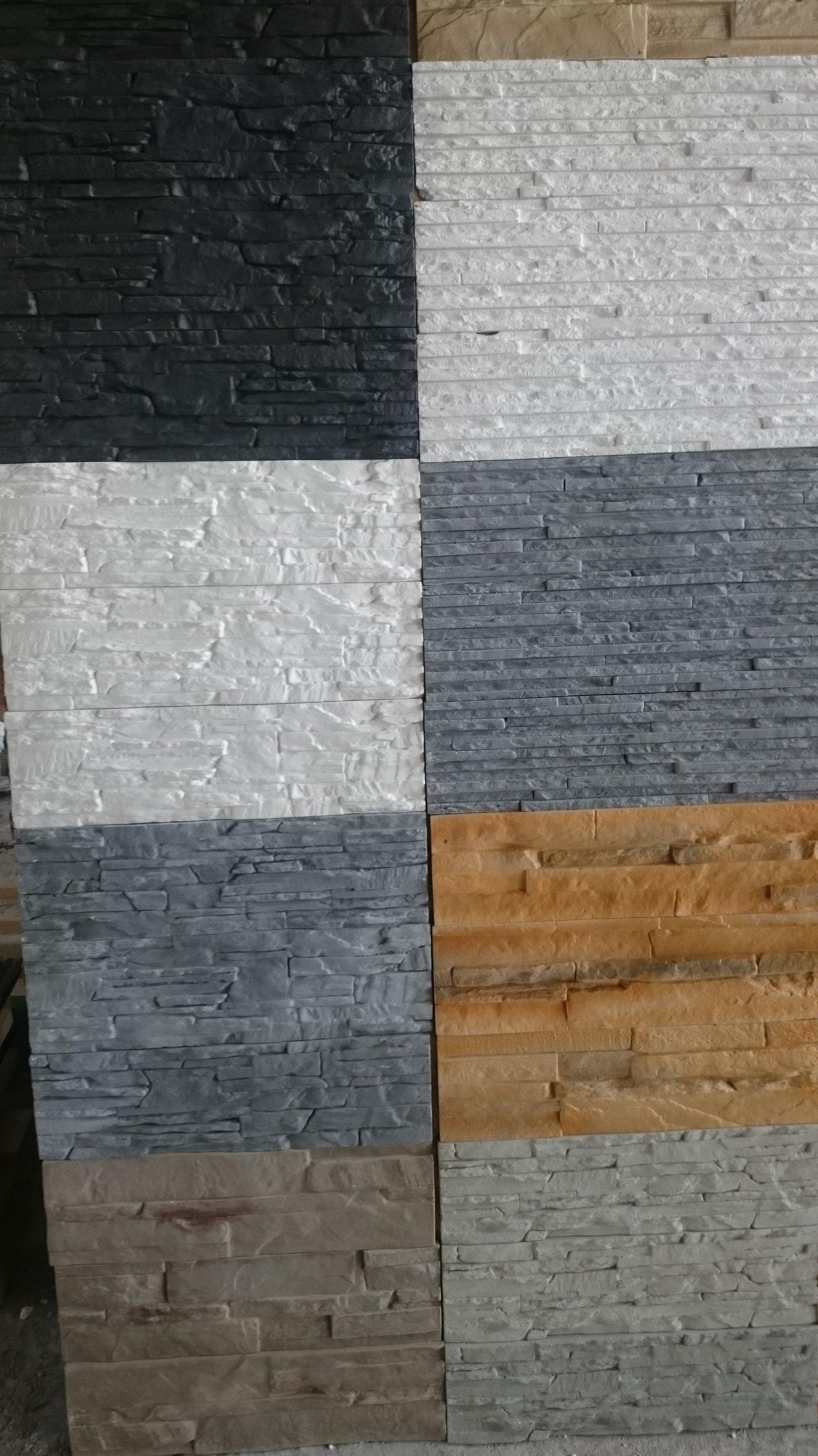 Płytki Dekoracyjne Elewacyjne Betonowe Gipsowe