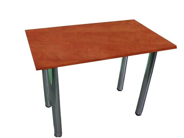 Kuchynský stôl 70x70 nohy chróm, doskou 8 farieb