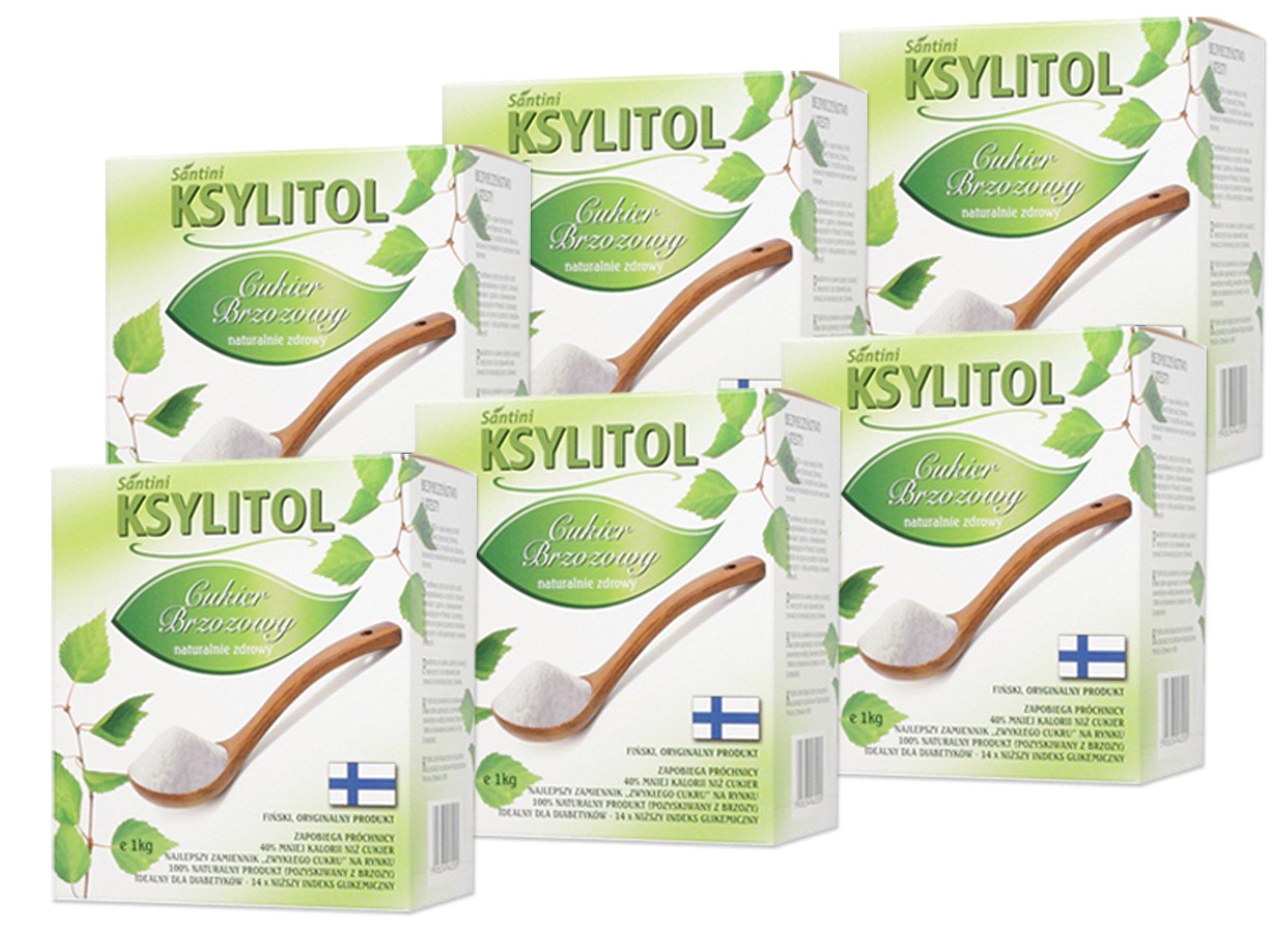 XYLITOL originálne fínske 6 kg 100% cukru rzeszów