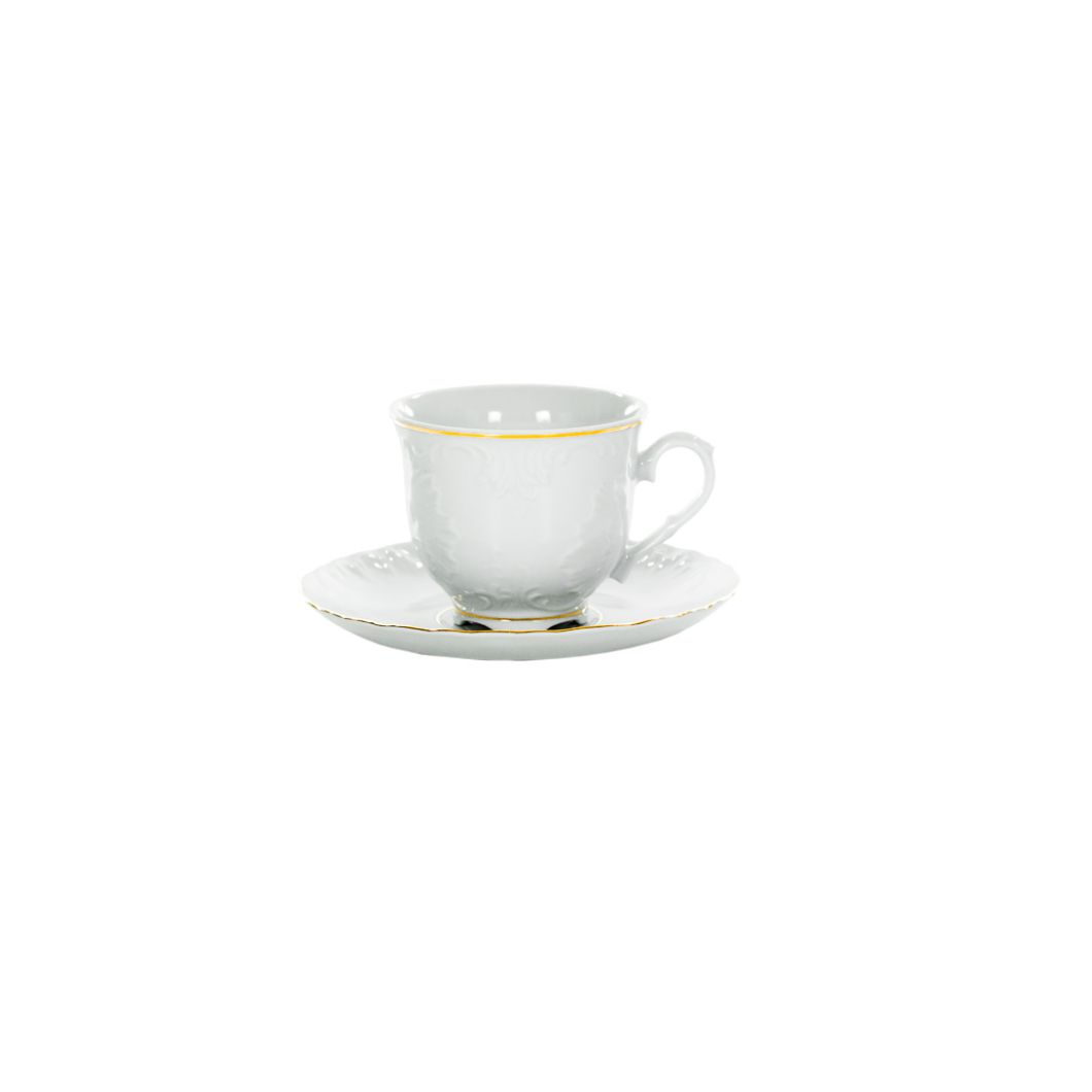 Šálky tanierov Coffee Ćmielów 3604 ROCOCO 250