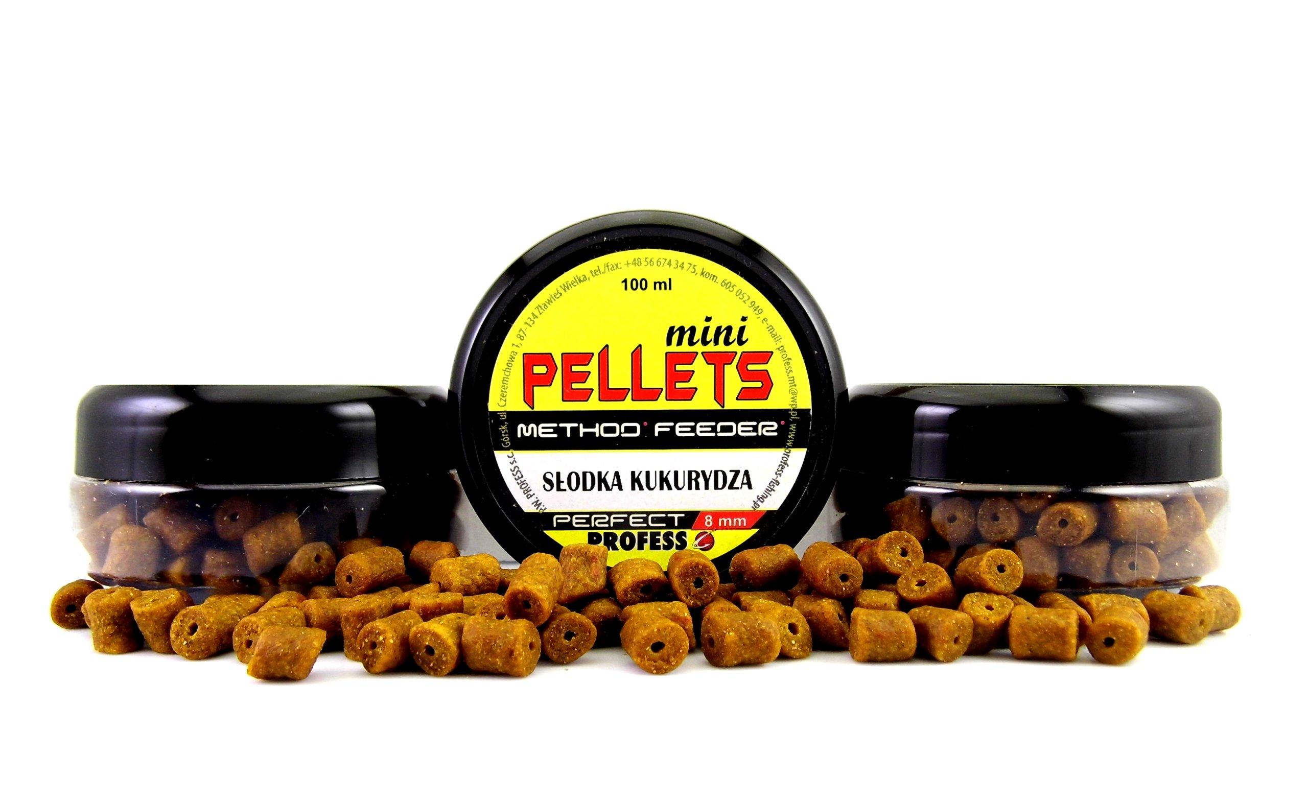 PROCES MINI PELLETA METÓDA - SWEET CORT 8MM