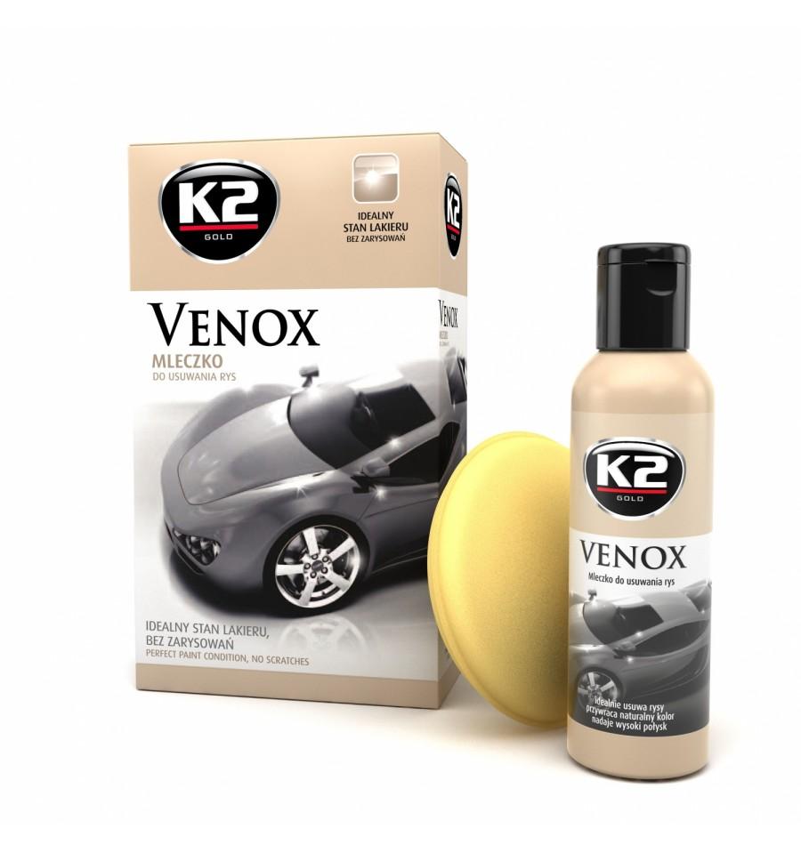 K2 VENOX молочко удаление царапин лака+аппликатор