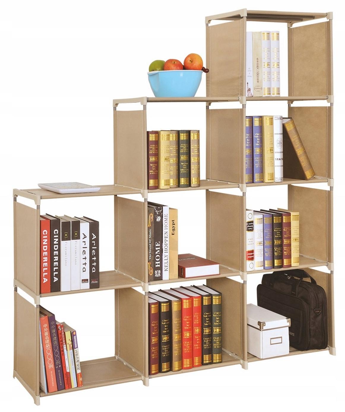 Wielofunkcyjny Regał z półkami na książki szafka
