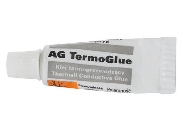 Клей termoprzewodzący TermoGlue 10g 0,9 вт/мк AG