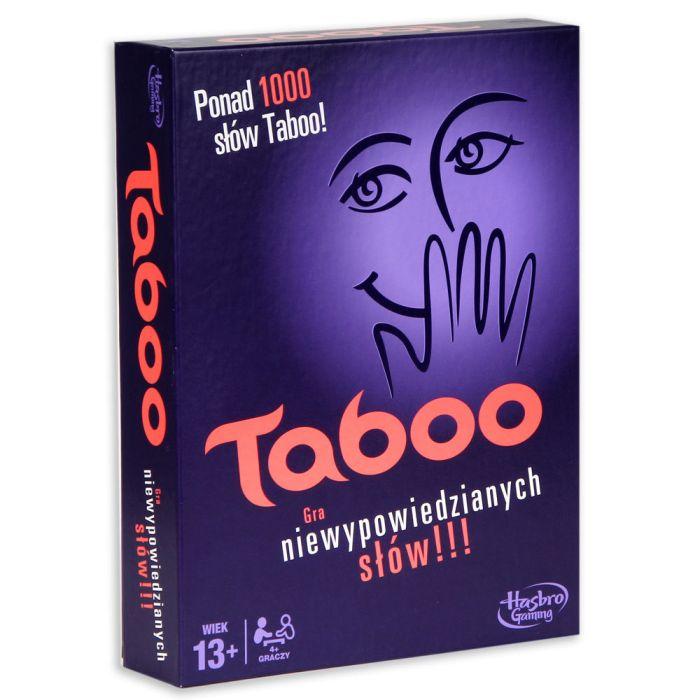 Hasbro hra tabu Tabeo Polska verzia A4626
