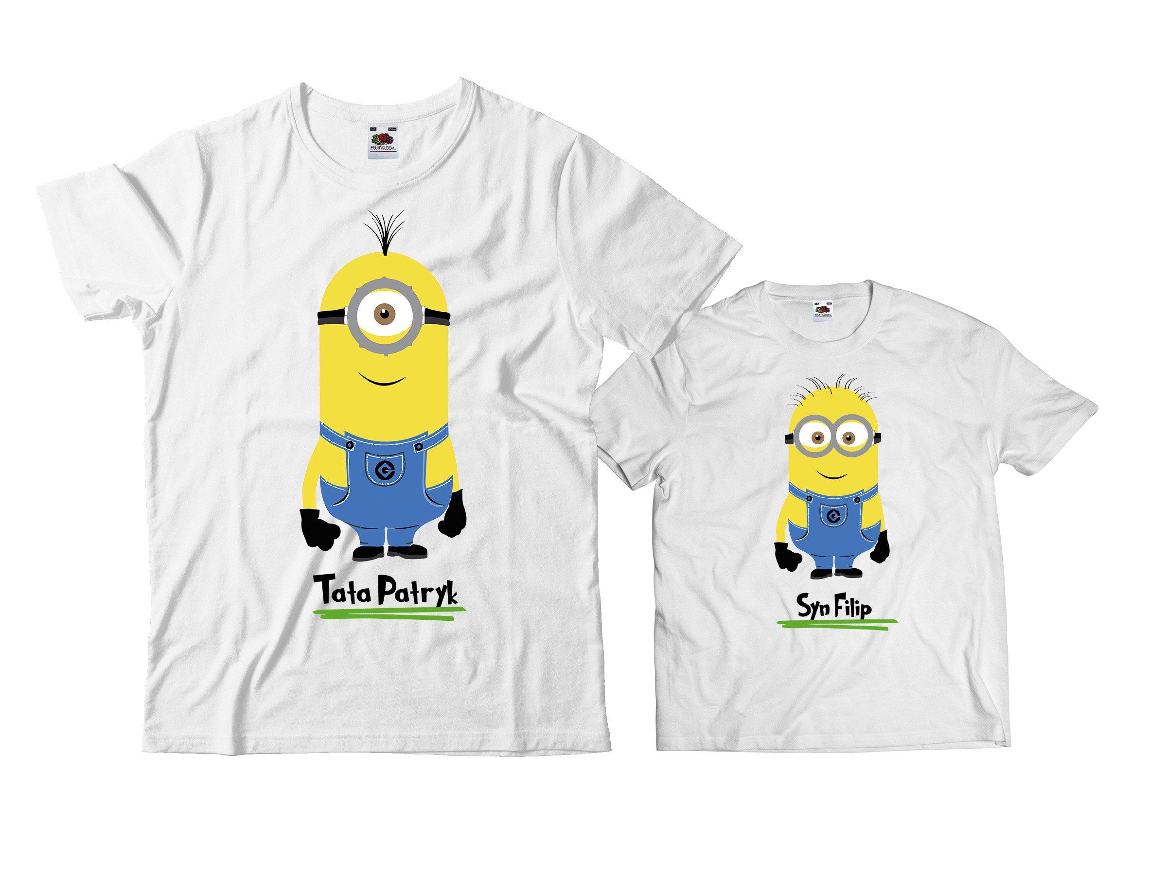 Koszulka Dla Taty I Syna Dzien Ojca Na Prezent Hit 5453474468 Allegro Pl