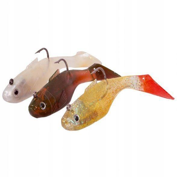 Gumové ryby Spectec 8cm, nastaviť A (3ks)