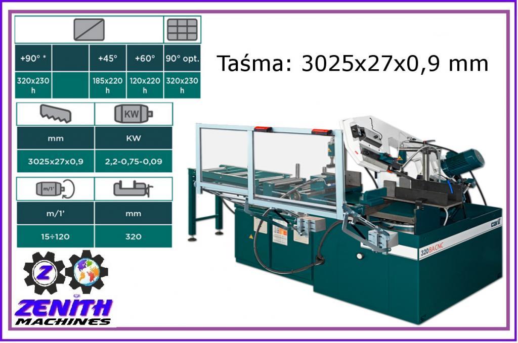 CARIF 320 BA CNC pásková fréza