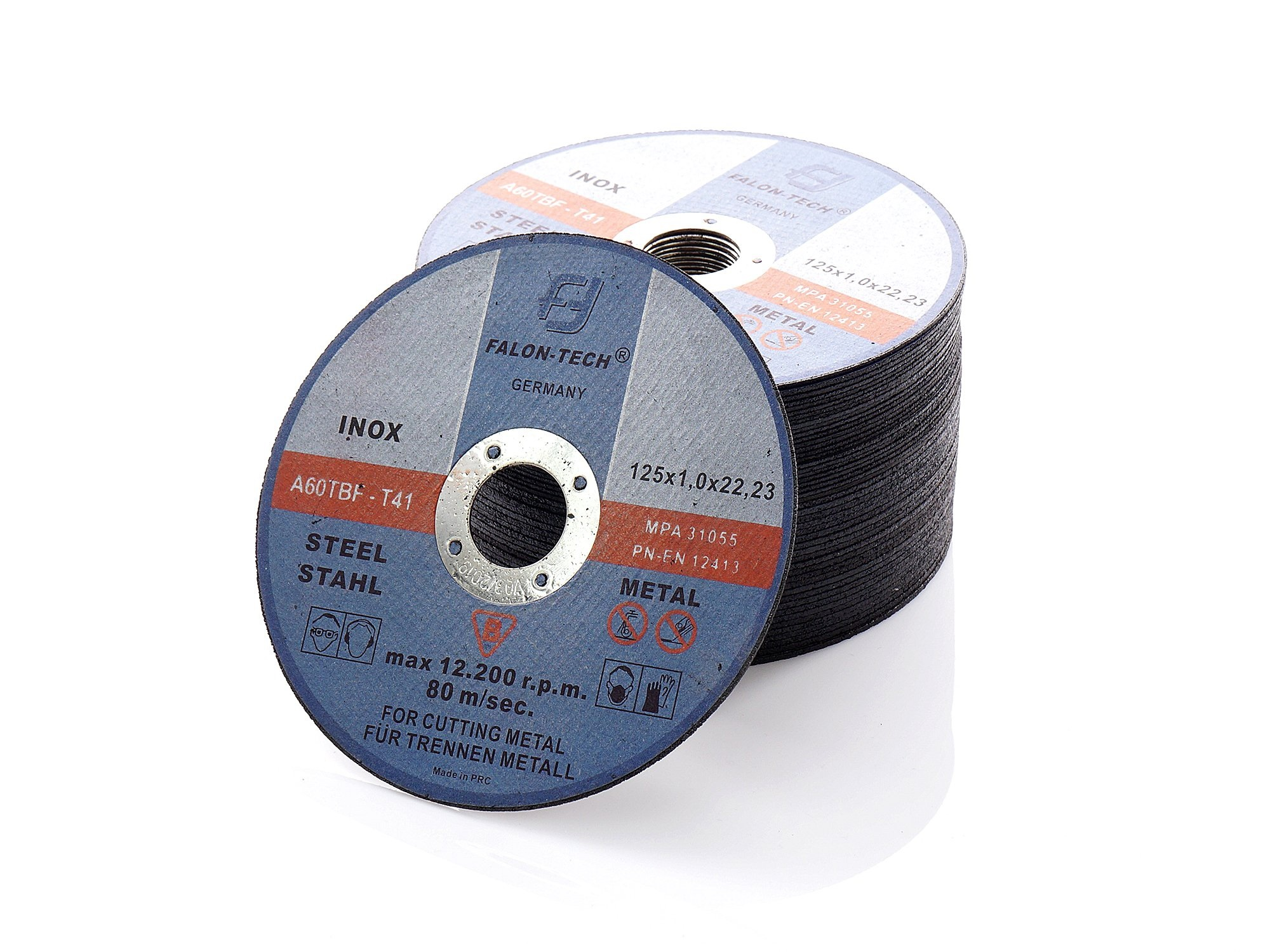 TARCZE TARCZA DO CIĘCIA METALU 125/1 mm INOX