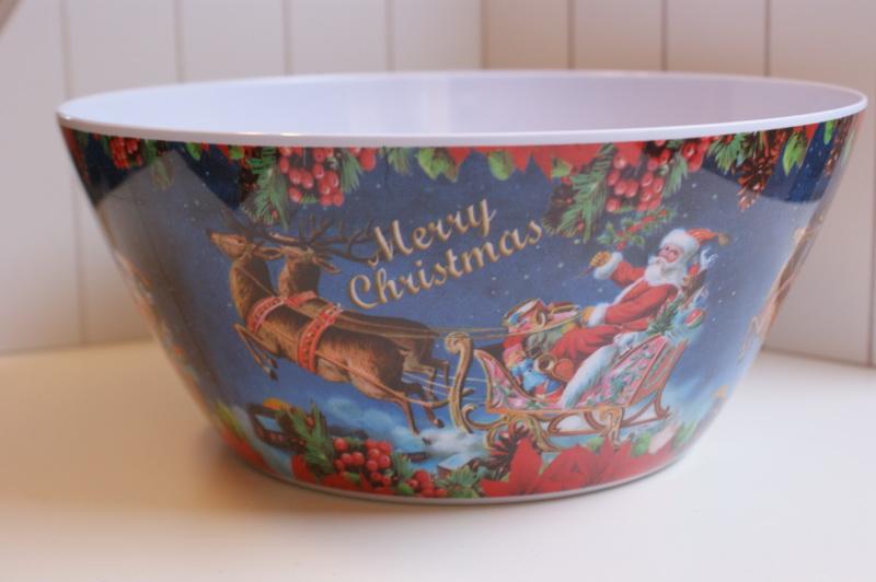 Misa veľkých melamínových merry vianočných holandských