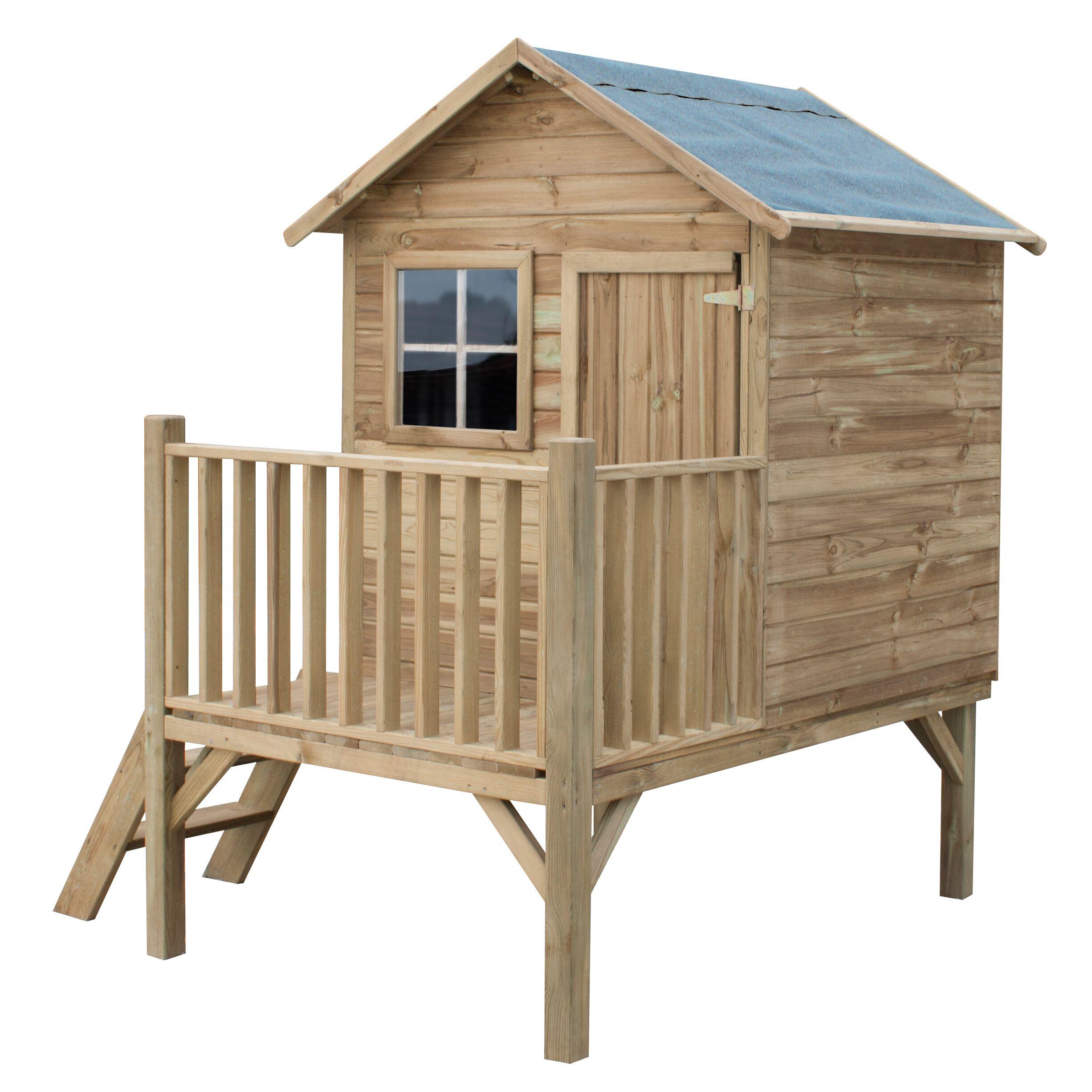 Drevený záhradný dom pre deti Tomek