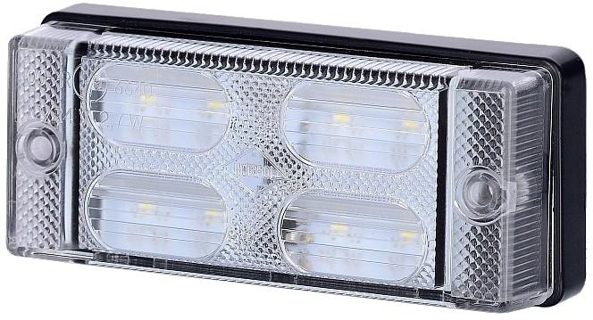 лампа led заднего вида белая диодов мост 12v 24v