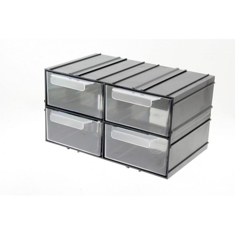 Prípadová skrinka Organizátor Modul PX4 4 zásuvky