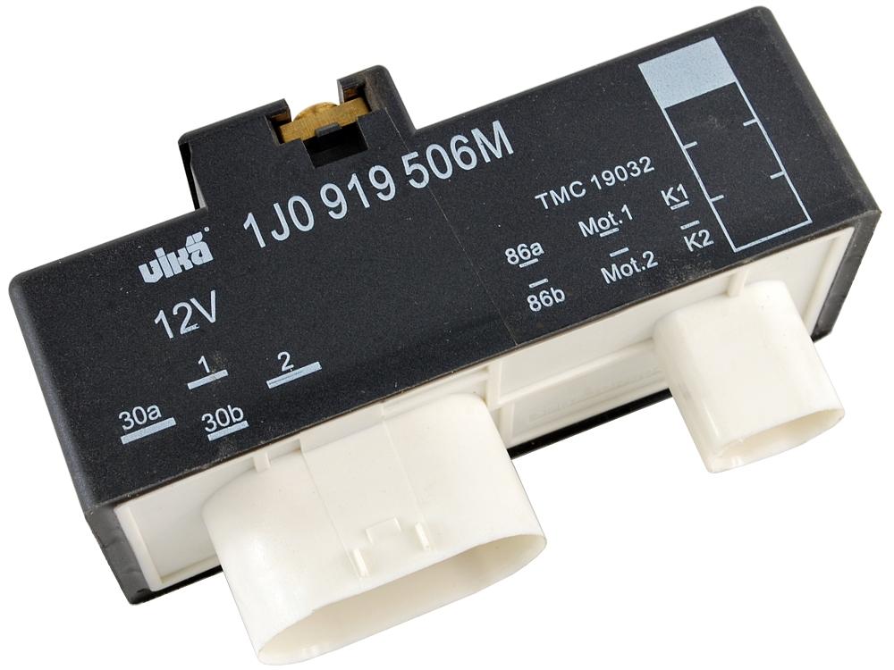 seat ibiza iii iv 3 4 драйвер модуль вентиляторов