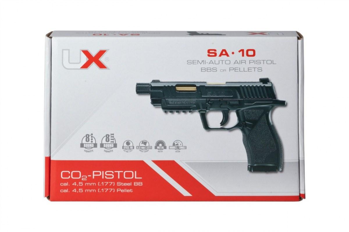 Купить Пистолет Umarex SA10 4.5 DIABOLO + 1500SR + 10CO2 + Масло на Otpravka - цены и фото - доставка из Польши и стран Европы в Украину.