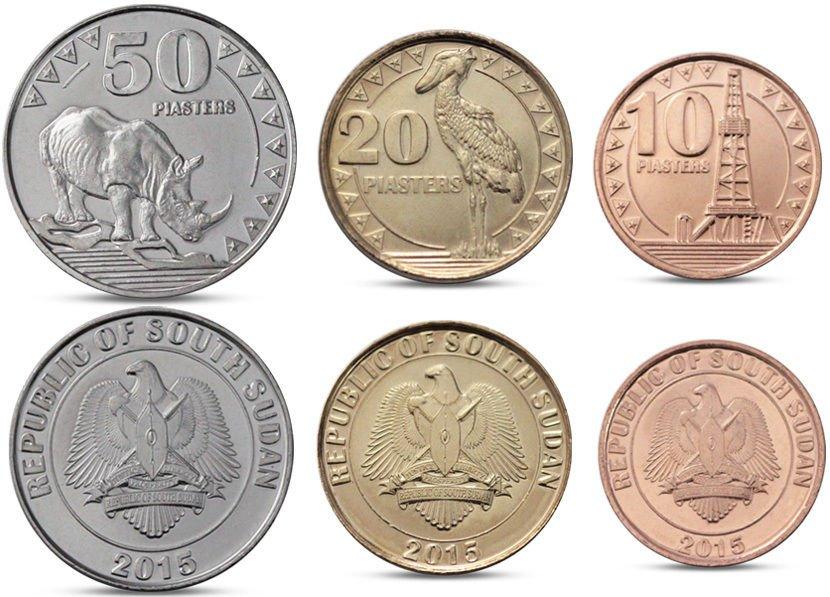 SUDAN POŁUDNIOWY 3 monety