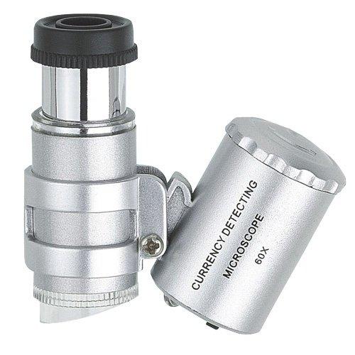 Šperky zväčšovače Professional Mini LED mikroskop ~ ~