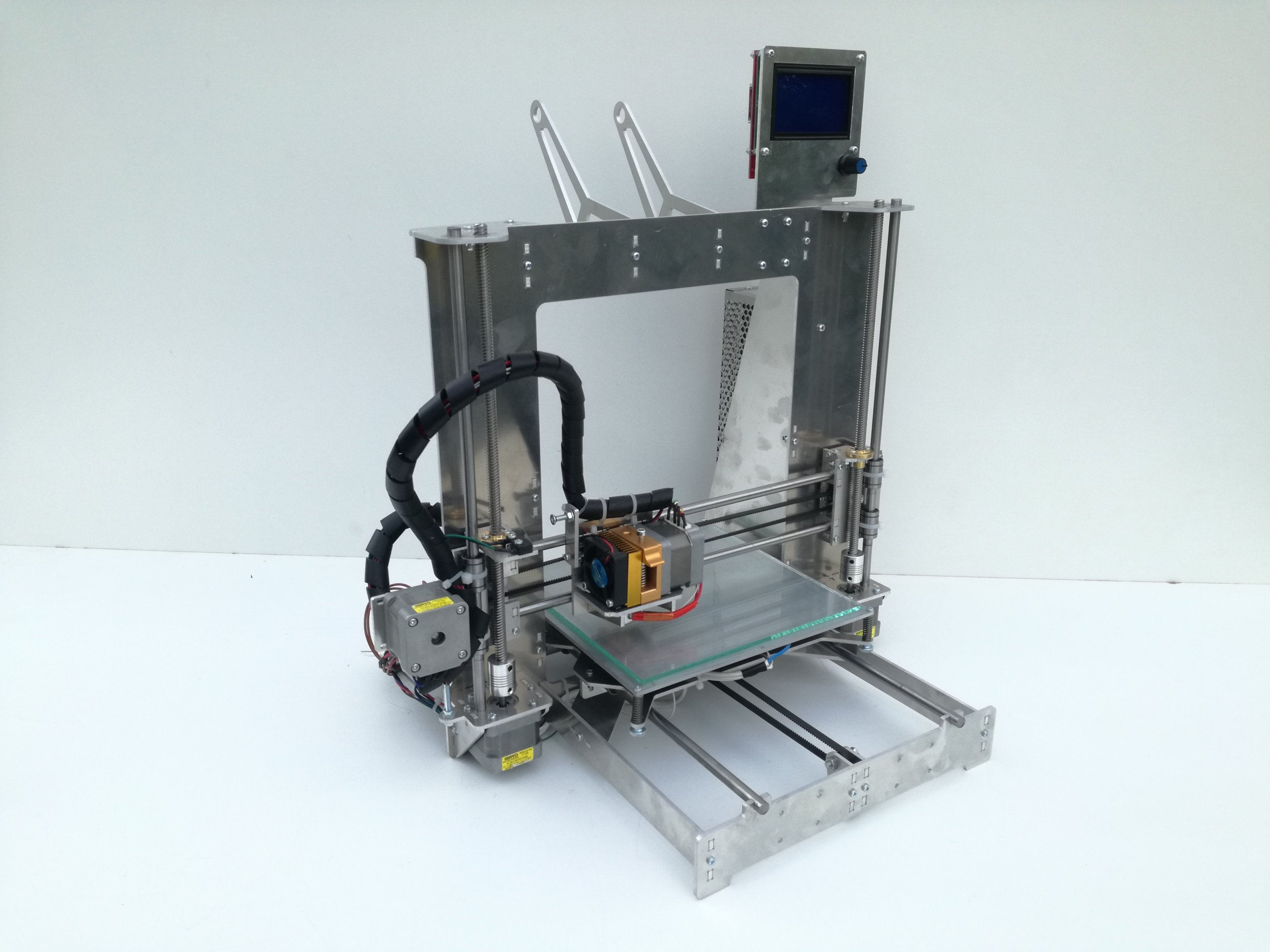 3D tlačiareň, Prusa I3 Al, Zníženie, bez spájkovania