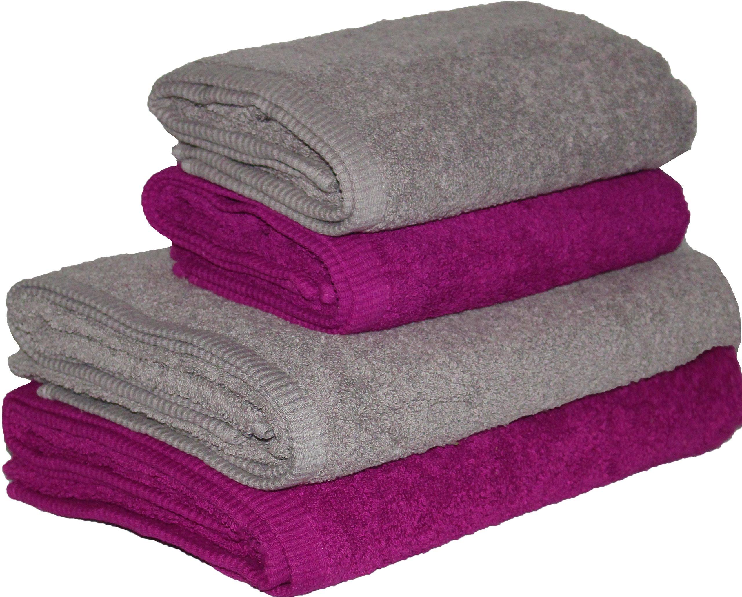 TOWEL SET 2x 70X140 и 2x 50X100 30K 500G