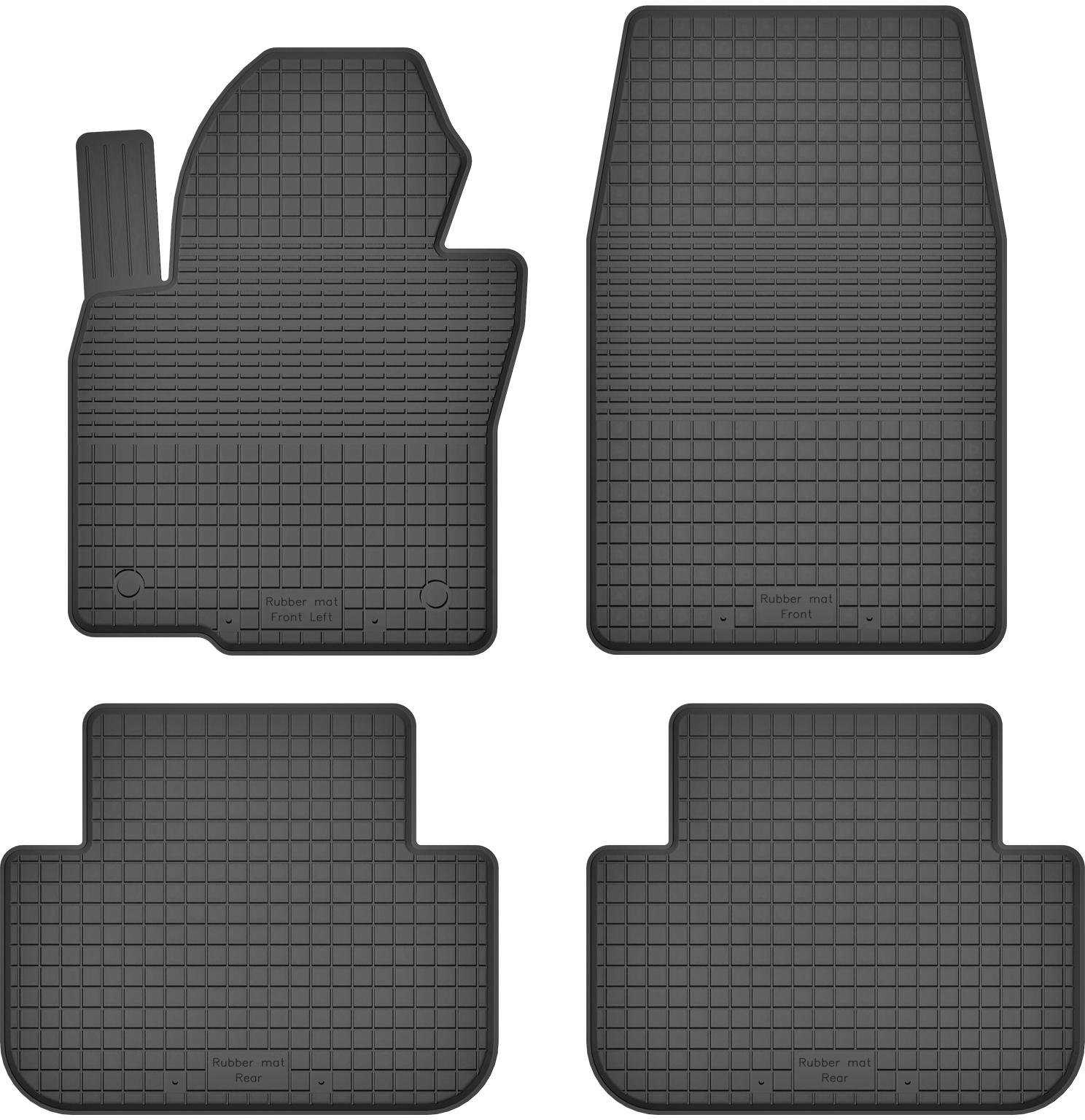 Kia Sportage III 3 (10-16) РЕЗИНОВЫЕ КОВРИКИ