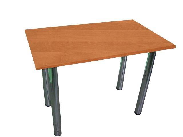 Kuchynský stôl 80x70, nohy-chrome, doskou 8 farieb