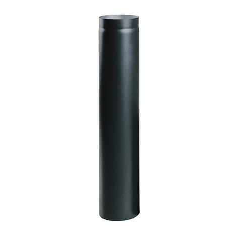 Čierna krbová rúra o priemere 100 cm 220