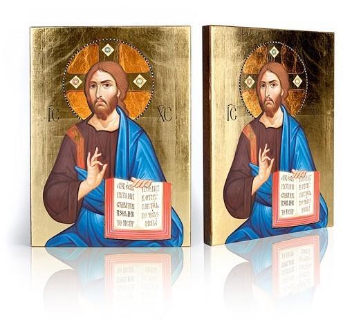 Ikona Krista Pantokrator 5 (pán ALL) B