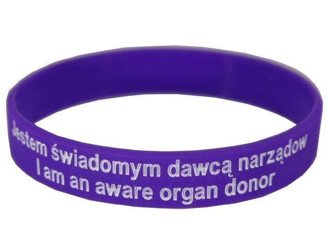 Náramok čelenka Som informovaný orgán darcu