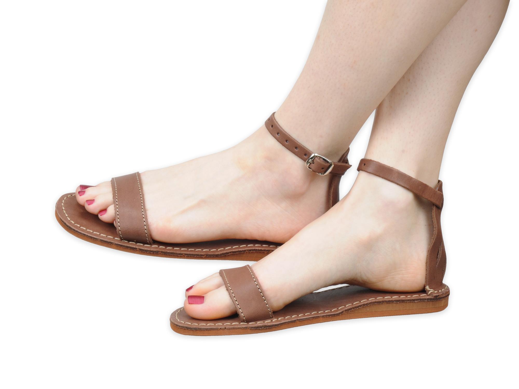 Sandały Gladiatorki skórzane rzymianki skóra nr 35
