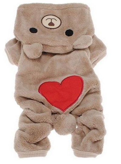 ОДЕЖДА ДЛЯ СОБАК CAT Teddy Bear PLUSH WINTER AUTUMN PL M